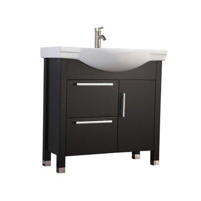 Pehrson Modern 36 Single Bathroom Vanity Set Base Finish: Espresso
