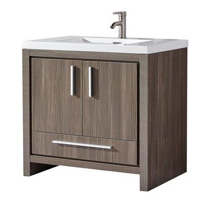 Peiffer Modern 36 Wood Base Single Bathroom Vanity Set