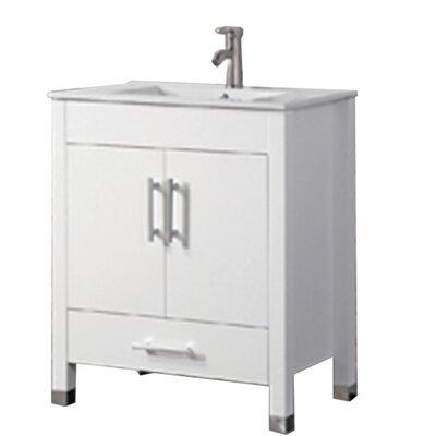 Predmore Modern 36 Single Bathroom Vanity Set Base Finish: White