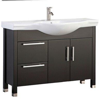 Pehrson Modern 40 Single Bathroom Vanity Set Base Finish: Espresso
