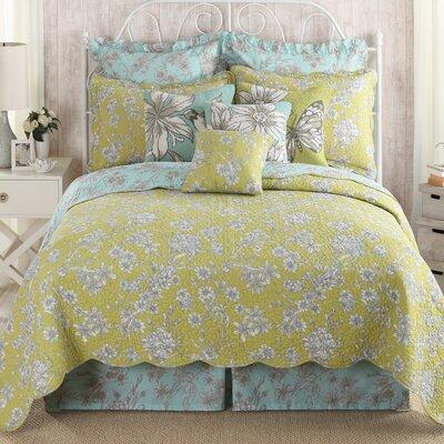 Tranquil Garden Quilt Size: Queen Quilt