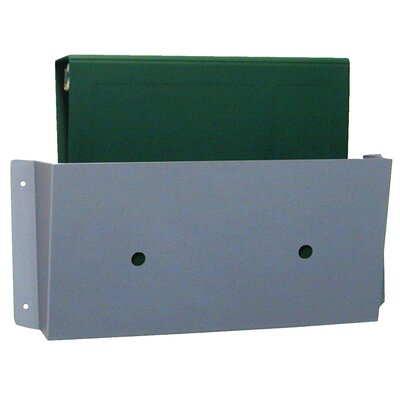 Wall Pocket Size: 7 H x 14 W, Finish: Aluminum