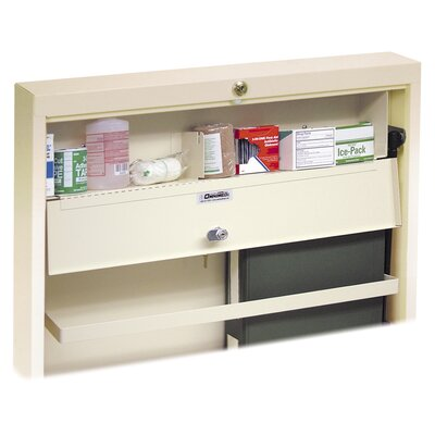 Deluxe 24.5 x 4.75 Surface Mount Medicine Cabinet Color: Beige