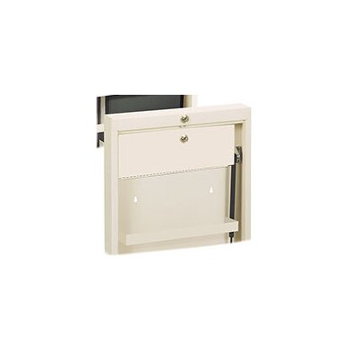 Deluxe Surface Mount Medicine Cabinet Color: Beige