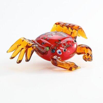 Glass Crab Figurine 52207