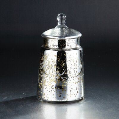 Glass Decorative Jar