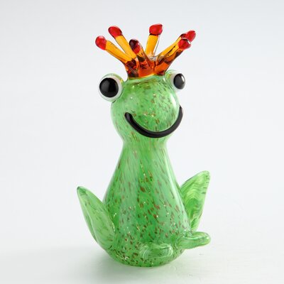 Glass Frog Figurine 62127