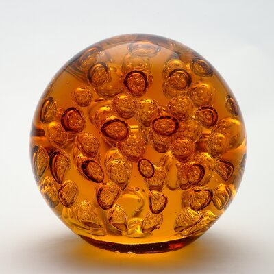 Decorative Ball Water Globe Color: Amber 81038A