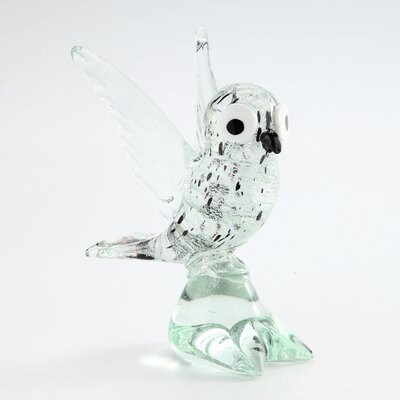 Glass Bird Figurine 81160
