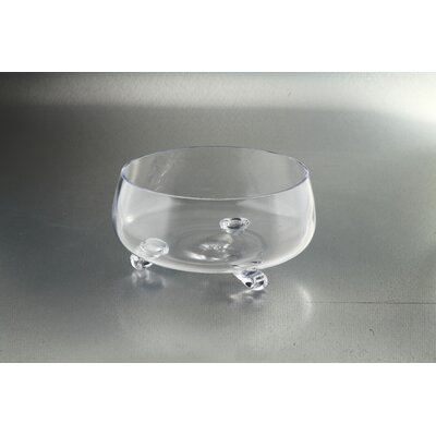 """Footed Bowl Size: 5"""" H x 10.5"""" W x 10.5"""" D 64097"""