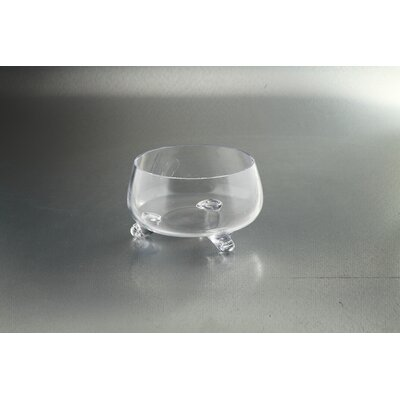 """Footed Bowl Size: 4.5"""" H x 8"""" W x 8"""" D 64096"""