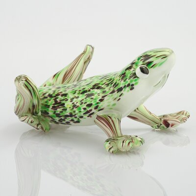 Glass Frog Figurine 52007