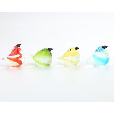 Olympia Glass Bird Figurine Set RDBT6794 42918399