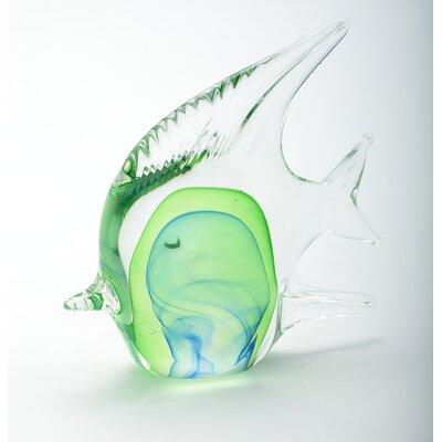 Glass Fish Figurine 58015