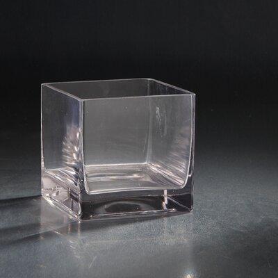 Glass Votive Size: 6 H x 6 W x 6 D