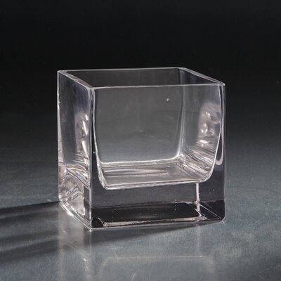 Glass Votive Size: 5 H x 5 W x 5 D