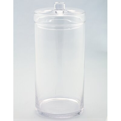 Kitchen Canister Jar Size: 14 H x 6.5 W x 6.5 D