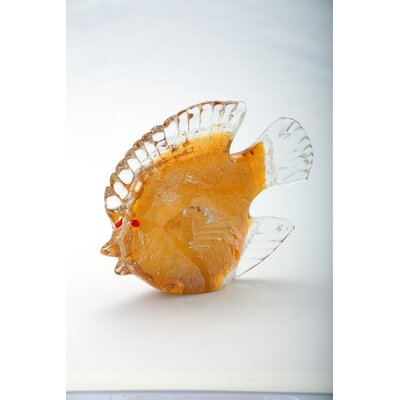 Glass Fish Figurine 58016