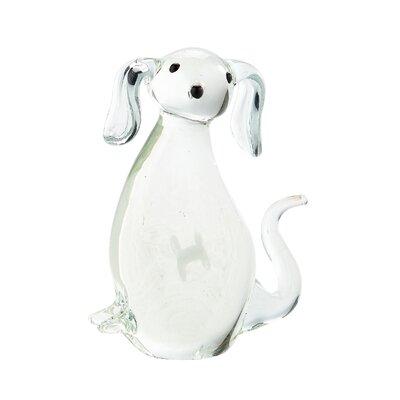 Glass Dog Figurine 76310