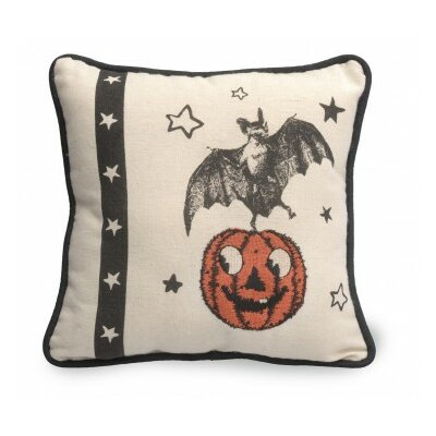 Bat Halloween Throw Pillow