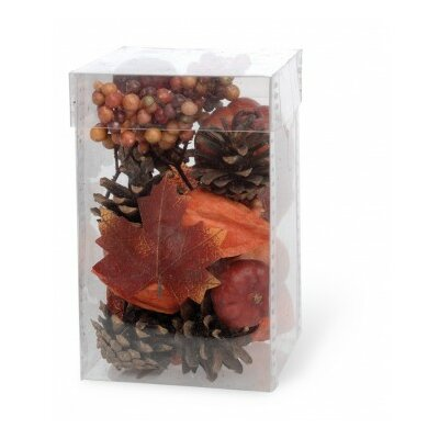 Pinecones And Berries Decorative Vase Filler