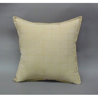 Mendon Embossed Suede Toss Throw Pillow Color: Tan