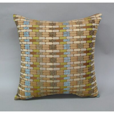 Othello Jacquard Geometric Toss Throw Pillow Color: Mocha