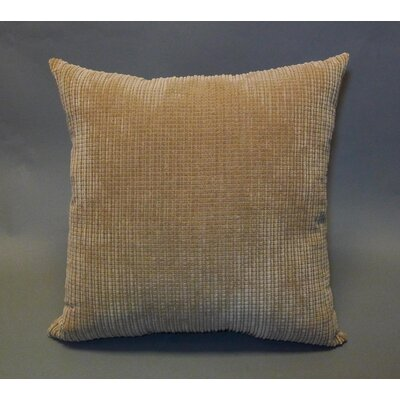 Perry Textured Woven Toss Throw Pillow Color: Taupe