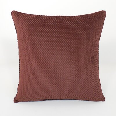 Convex Textured Woven Toss Throw Pillow Color: Earth