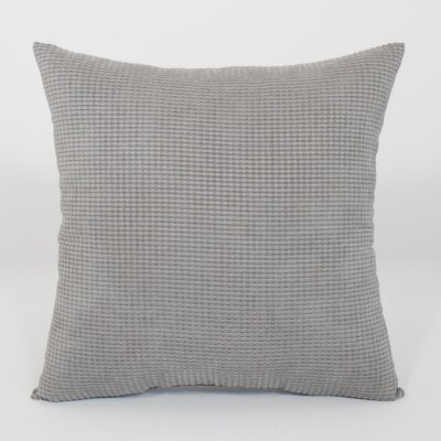 Kaylee Textured Woven Toss Throw Pillow Color: Charcoal