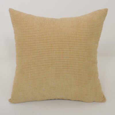 Kaylee Textured Woven Toss Throw Pillow Color: Beige