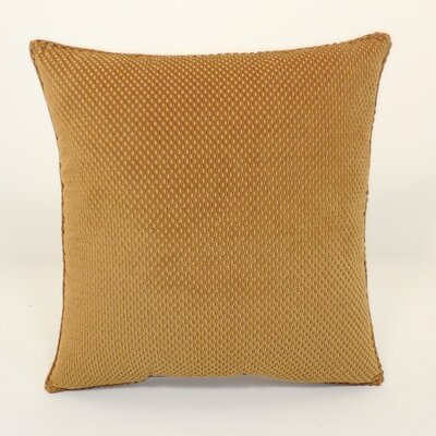 Convex Textured Woven Toss Throw Pillow Color: Nouget