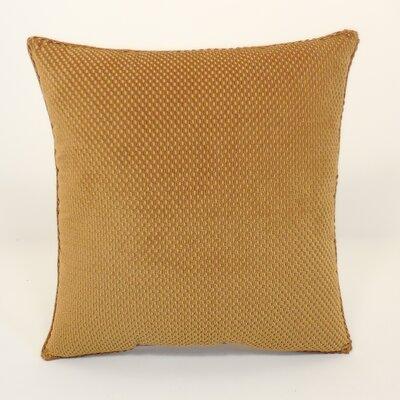 Convex Textured Woven Toss Throw Pillow Color: Nouget