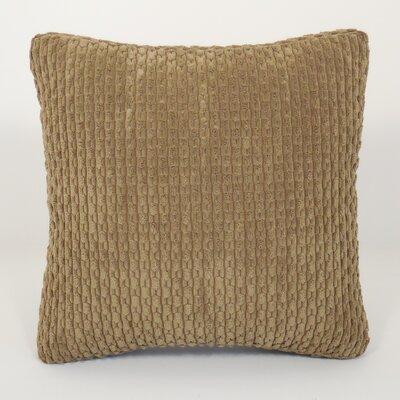 Scarlett Ribbed Plush Toss Throw Pillow Color: Driftwood