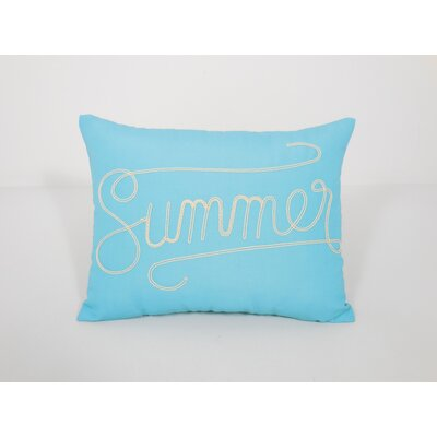 Coastal Summer Toss Throw Pillow