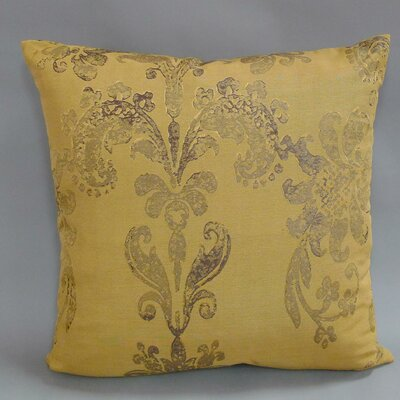 Susannah Woven Antique Damask Toss Throw Pillow