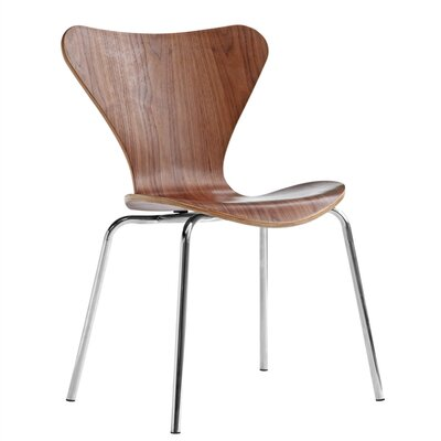 Jays Side Chair Upholstery: Walnut