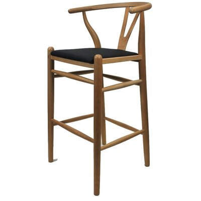 Woodstring 25 Bar Stool Color: Natural