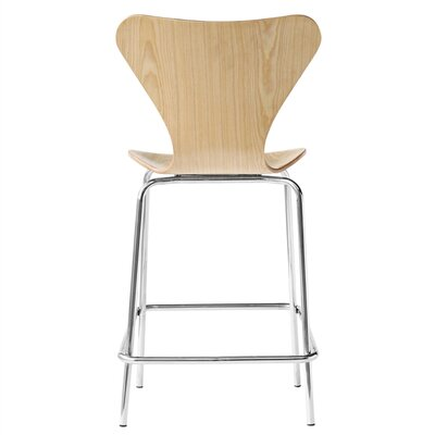 Jays 26 Bar Stool Upholstery: Natural