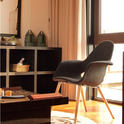 Forza Arm Chair Upholstery: Brown