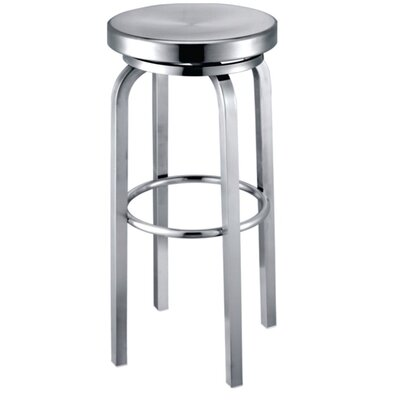 Navy 25 inch Swivel Bar Stool