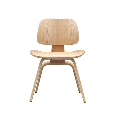 Plywood Side Chair Color: Walnut
