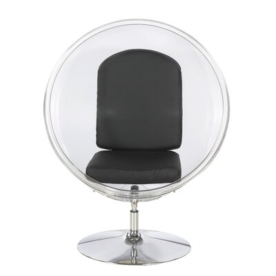 Ball Chair Upholstery: Black