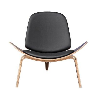 Armchair Upholstery: Black
