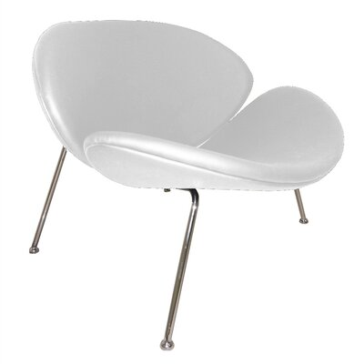 Slice Lounge Chair Color: White