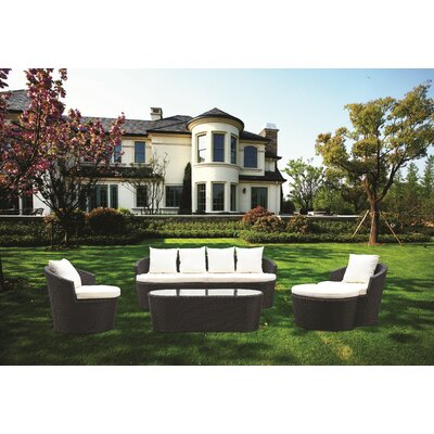 Shadow 5 Piece Deep Seating Group with Cushions
