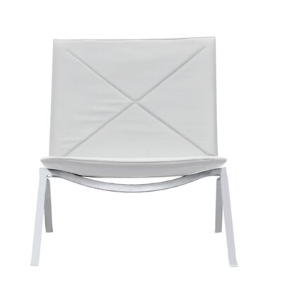 Pika 22 Lounge Chair Color: White