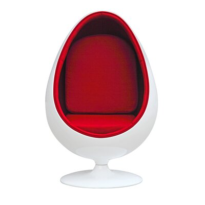 Easter Balloon Chair Color: Red
