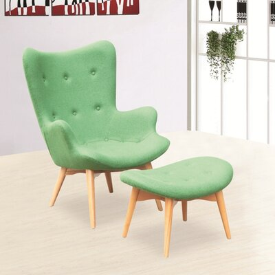 Grant Featherston Lounge and Ottoman Set