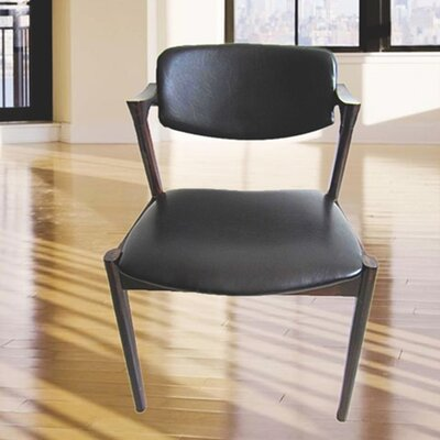 Shifa Genuine Leather Upholstered Dining Chair